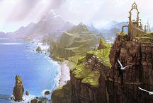 Fantasy landscape / by Vincent Bezençon