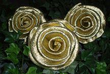 Rosen, Roses / Krepprosen für jeden Anlass aus eigener Herstellung