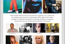 CELEBRITY ARTISTS / Discover celebrities artistic talents