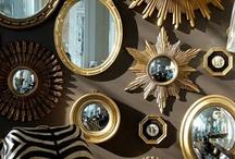 mirrors gold