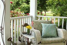 Outdoor Spaces- Porches / Decorating ideas for fabulous porches