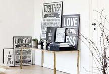 I LOVE MY TYPE / Inspiration