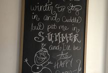 Chalkboard Art by Pauline / by Jennifer
