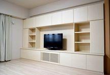 壁面収納・Wall surface cabinet