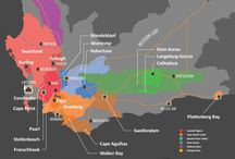 Cartes : l'origine des vins / Le vin et les cépages expliqués sous la forme de cartes #Vin #Wine
