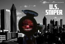 U.S. Sniper / A psychotic sniper plans a massive killing spree in the city of Atlanta.