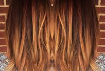 Haar / copper - too red but also don't wanna go too blonde