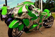 Stor motorcykel