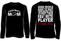 Sport shirts mom