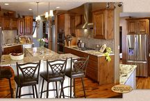Bold but Traditional - Showplace Cabinets / Covington W and Covington Door Styles