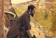 arte - Gustave Caillebotte (1848-1894) / arte - pittore francese