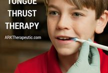 speech/ tongue thrust therapy