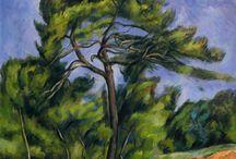 Ağaçlar van Gogh unkilere benziyor
