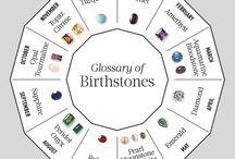 birthstone..mine is sapphire