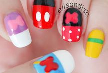 CUTE NAILS ART!!