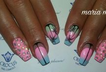 summer nails by maria mpouliopoulou