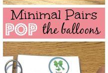 Minimal Pairs / Minimal Pairs for phonology