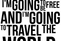 Travel Quotes / Grab your walking books, your suitcase, your map and go explore!