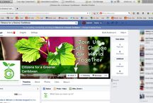 Custom Facebook Page Design Trinidad & Tobago / Custom Facebook Business Page Design Trinidad.  This board shows our designs for Business Pages on Facebook.