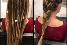 Dollylocks Salon / New dreadlocks are created using the Dollylocks Professional Organic Dreadlocking System. Visit www.dollylockssalon.com to learn more or schedule an appointment!