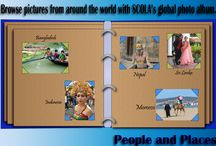 Photography / People and Places is an original snapshot gallery of SCOLA friends from around the world and the places they live. The service contains thousands of vibrant pictures to browse, download and display for any educational purpose.