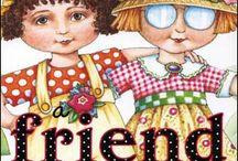 Mary Engelbreit & Susan Branch / Talented Ladies :) / by Mary Beth Elliott