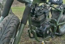 honda. xl600r bobber / Building bikes