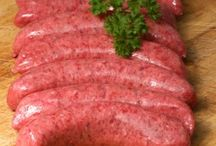 Sausages / http://hooknblock.co.uk/catalog/sausages