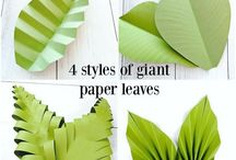 Leaves Paper