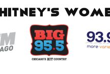 """Whitney's Women / Whitney's Women is a segment on 103.5 KISSFM, BIG 95.5 and 93.9 MYFM that airs on the Weekly Show. Each week we bring on rock star women that are giving back to Chicago. Listen to iHeartMedia's The Weekly Show on these stations for """"Whitney's Women."""""""
