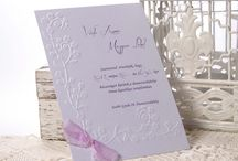 Flower Dream / wedding invitation by Erika Velsicz