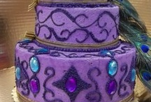 Peacock cakes / by Fabulous  Cat Woman