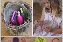 Fabric Arts & Crafts / by The Crafty Crow