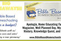 Bible Based Homeschooling / by Karen DeBeus