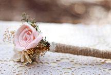Vintage rustic SN / August wedding flowers