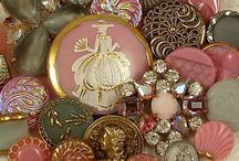 Vintage Button's / by Peggy Deatherage