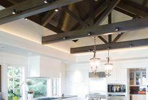 vaulted ceiling lighting