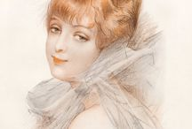 Pin-Up Art by BRISGAND, Gustave