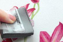 Akvarel a malování