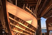 Construção de barcos