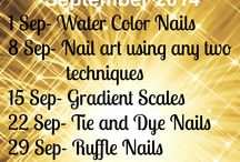 Techniques Challenge September 2014 / All nailart done by the participants of STNchallenges, Click on pics to find out all the details about the nailart.  Join us on facebookhttps://www.facebook.com/groups/stylethosenailschallenges/