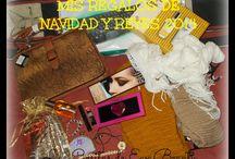 REGALOS RECIBIDOS / Aquí os dejaré los regalitos que reciba y que os enseñe con toda mi ilusión :)
