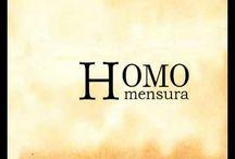 °Philosophy / hOmO mensura