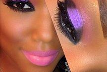 my make up...wow