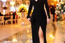 Vestido Madrinha Preto