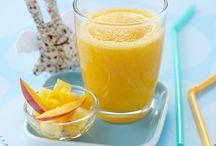 Desserts et goûters lactés / Délicieuses recettes lactées pour les desserts et les goûters de bébé.