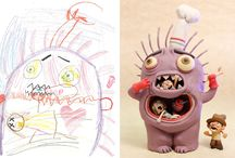 The Monster Project / The Monster Project is the undertaking of a passionate collection of artists who share a common goal: to help children recognise the power of their own imaginations and to encourage them to pursue their creative potential.