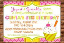 Birthday Party Ideas / by Sara Bottrell