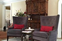 Get the Merchant House Look / Inspiring mix of European antiques with casual and comfortable furnishings and decor