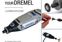 DREMEL KNOW HOW / Lots of tutorials and videos on how to use your Dremel tool, along with Dremel Rotary Tool accessories and what to do with them. Which Dremel bits and bobs to use?  What can you make using your Dremel drill and accessories? All these answered and more int his helpful board.  https://www.eternaltools.com/dremel-drills-and-accessories